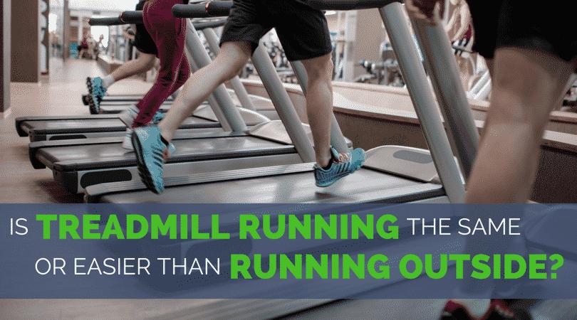 Est-il plus facile de courir sur un tapis roulant?