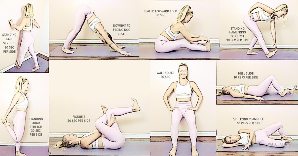 Comment étirer l'arrière du genou?